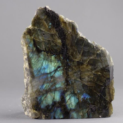 Polished Natural Labradorite Sculpture - 5.0 inches