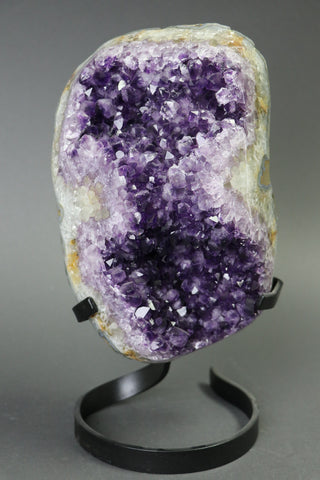 Amethyst from Uruguay, Custom Stand - 13.27 lbs.