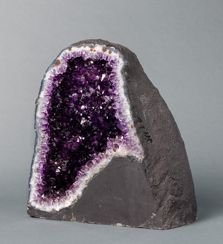 Amethyst Crystals For Sale: Amethyst Cathedral Geodes for Sale: Beautiful Amethyst Cathedral Geode - 118 lbs.
