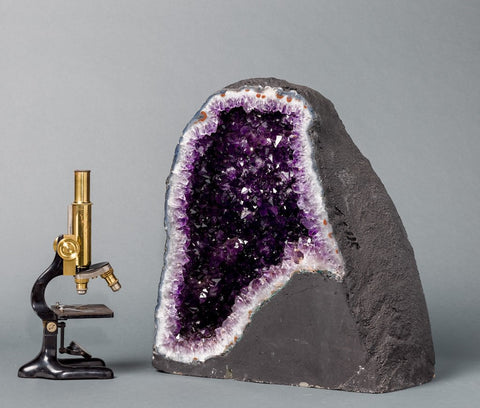 Amethyst Cathedral Geodes for Sale: Beautiful Amethyst Cathedral Geode - 118 lbs.