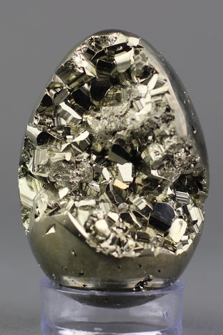 Exceptional Pyrite Egg from Peru - 3.4 inches