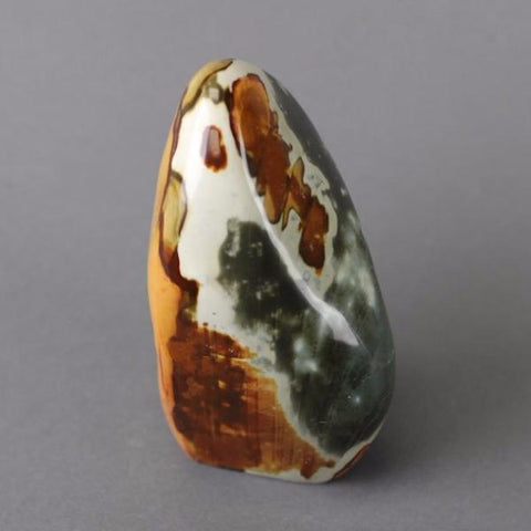 Polished Polychrome Jasper Freeform Sculpture, Madagascar - 6.6 inches