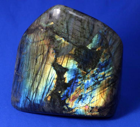 Labradorite for Sale: Polished Labradorite from Madagascar - 8.3 inches