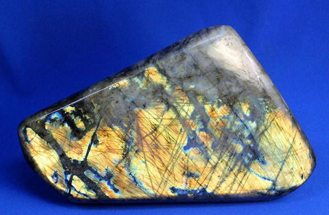 Labradorite for Sale: Polished Labradorite from Madagascar - 10.78 inches