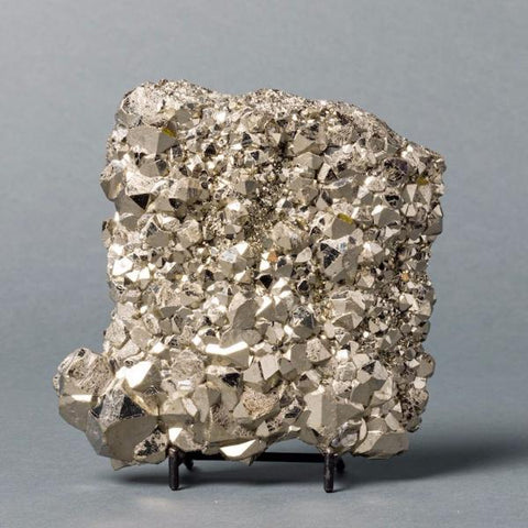 Pyrite Crystals for Sale: Exceptional Pyrite from Peru, 6 inches