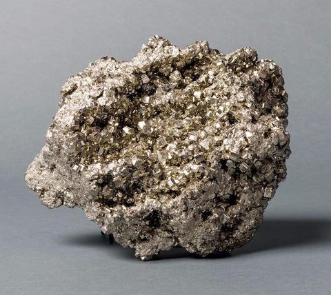 Pyrite Crystals for Sale: Large Exceptional Pyrite from Peru, 20 lbs.