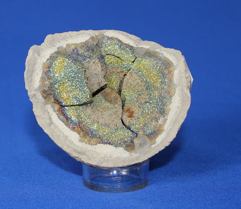 Rainbow Pyrite from Russia - 4.1 inches