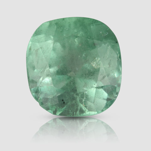 Huge Mint Green Colombian Emerald - 13.86 carats (IGI)
