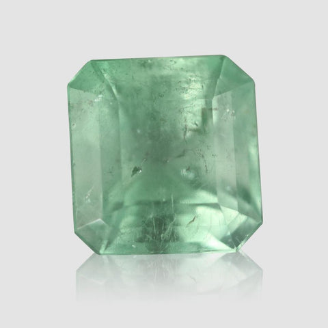 Beautiful Mint Green Colombian Emerald - 7.2 carats (IGI)