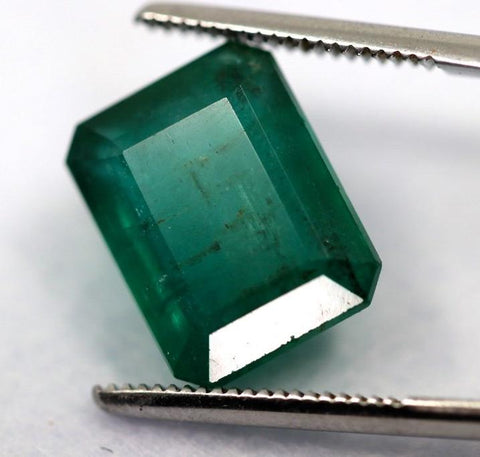 Gorgeous Blue-Green Zambian Emerald, 15.19 carats (IGI)