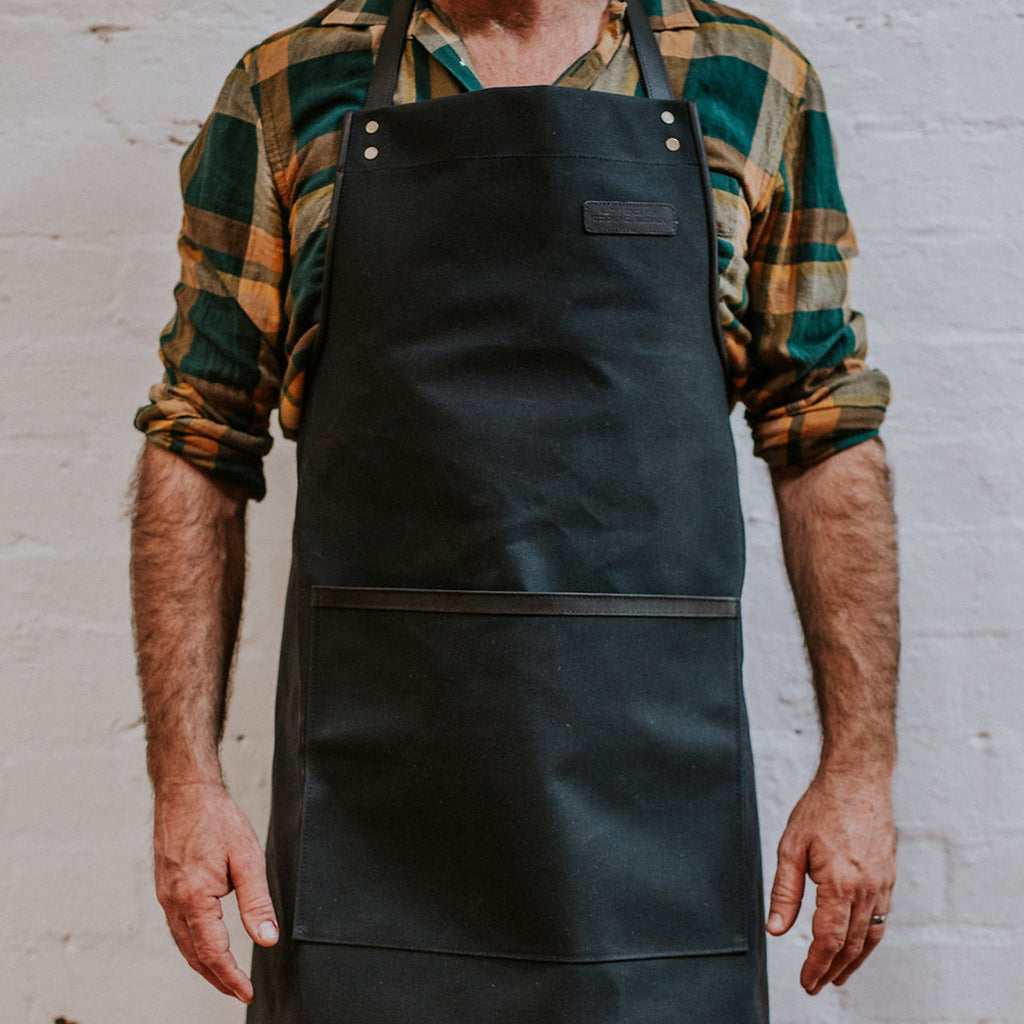 Canvas Apron - Black