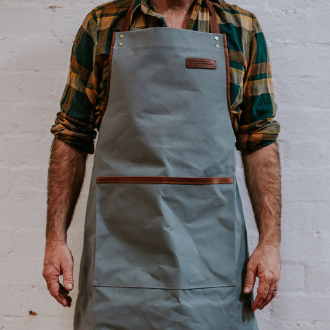 Canvas Apron - Grey