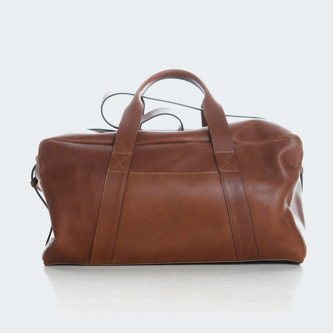 Leather Duffle - Brown