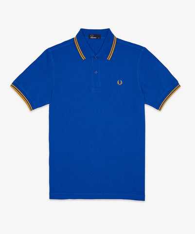 Fred Perry Men's M1200 Twin Tipped Polo