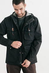 Bridge & Burn Fraser Waxed Canvas Jacket