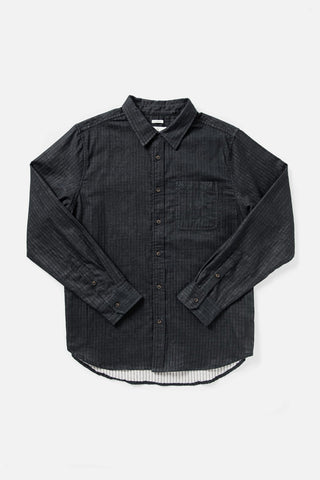 Bridge & Burn Jude Double Cloth Long Sleeve Button Up