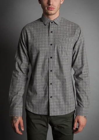 Descendant of Thieves Two-Pane Long Sleeve Button Up