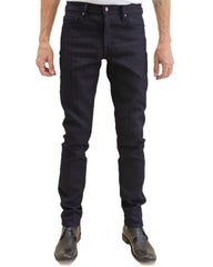 "Kato ""The Pen"" Slim Fit Big Herringbone Jeans"