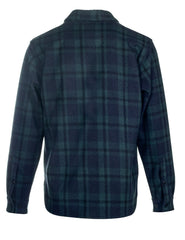 Schott CPO Plaid Quilt Lined CPO Shirt Jacket