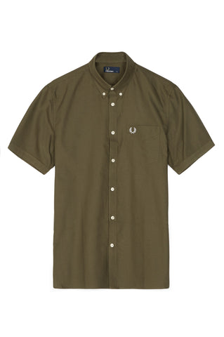 Fred Perry Classic Oxford Short Sleeve Button Up