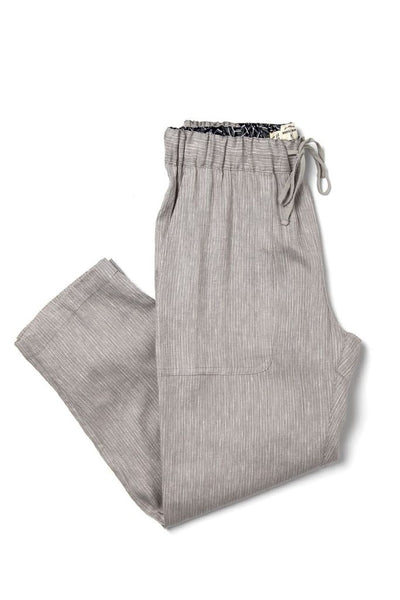 Bridge & Burn Clipper Drawstring Linen Trousers