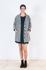 Bridge & Burn Joyce Triangle Dobby Coat