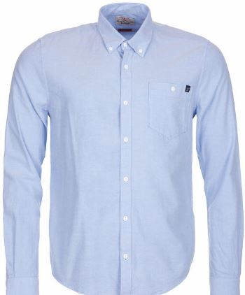 Barbour Lang Slim Fit Long Sleeve Button Up