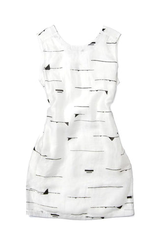 Bridge & Burn Lucy Peak Print Dress