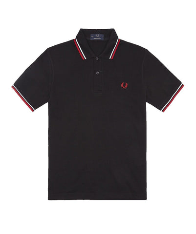 Fred Perry M12 Made In England Twin Tipped Polo