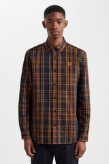 Fred Perry Long Sleeve Winter Tartan Shirt