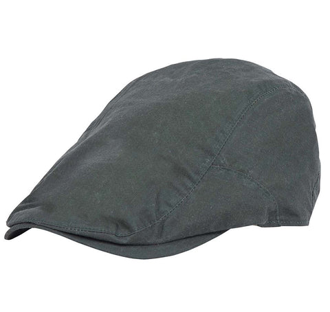 Barbour Lightweight Waxed Flat Cap