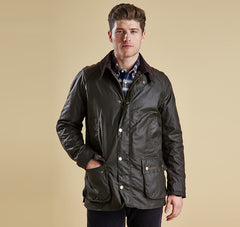 Barbour Ashby Waxed Cotton Jacket