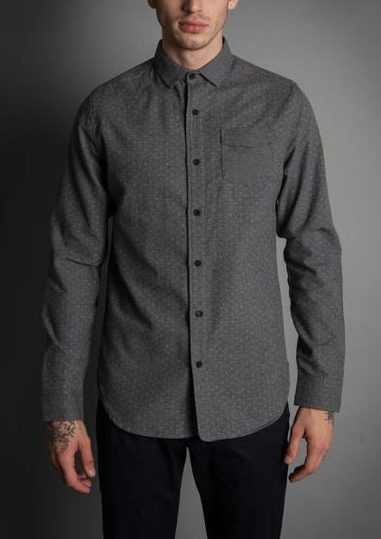 Descendant of Thieves Soft Trespass Long Sleeve Button Up