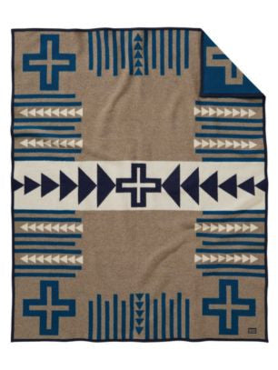 Pendleton Thunder Quarrel Jacquard Blanket ($16 Shipping Fee Included In Price)