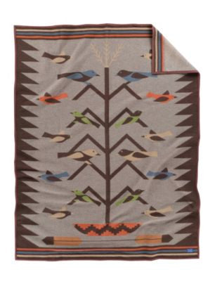 Pendleton Tree of Life Jacquard Blanket ($16 Shipping Fee Included In Price)