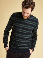 Barbour Weser Stripe Crew Neck Sweater