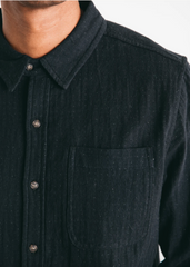 Bridge & Burn: Jude Slate Doublecloth Men's Button-up Shirt