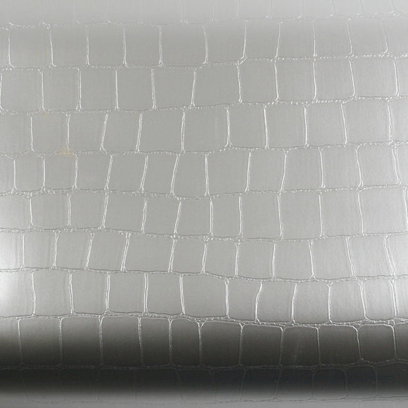 ROSEROSA Peel and Stick PVC Flame Retardation Crocodile Self-adhesive Covering Countertop SF4819-3