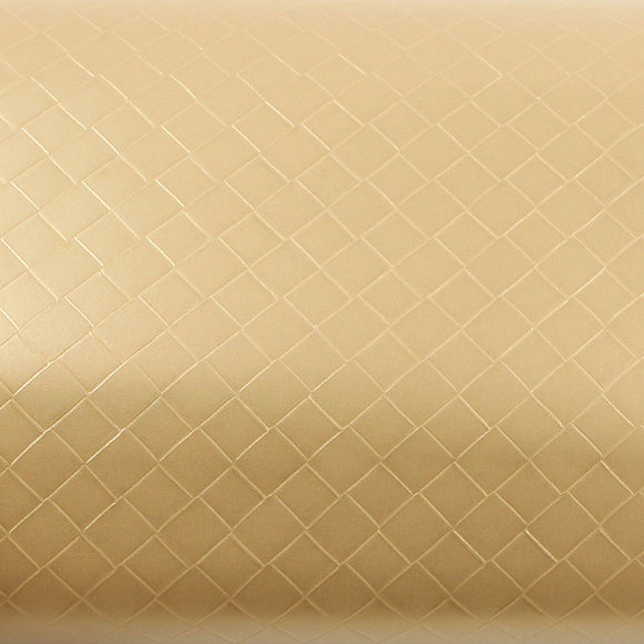 ROSEROSA Peel and Stick PVC Leather Check Self-Adhesive Covering Countertop Backsplash MG5106-3