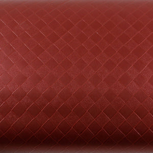 ROSEROSA Peel and Stick PVC Leather Check Self-Adhesive Covering Countertop Backsplash MG5125-7