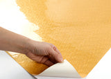 ROSEROSA Peel and Stick PVC Instant Fabric / Textile Decorative Self-Adhesive Film Countertop Backsplash Sparkling Square PGS5145-2 : 1.96 Feet X 8.20 Feet