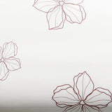 ROSEROSA Peel and Stick PVC Self-adhesive Covering Countertop Backsplash Modern Flower S PGS9158-2