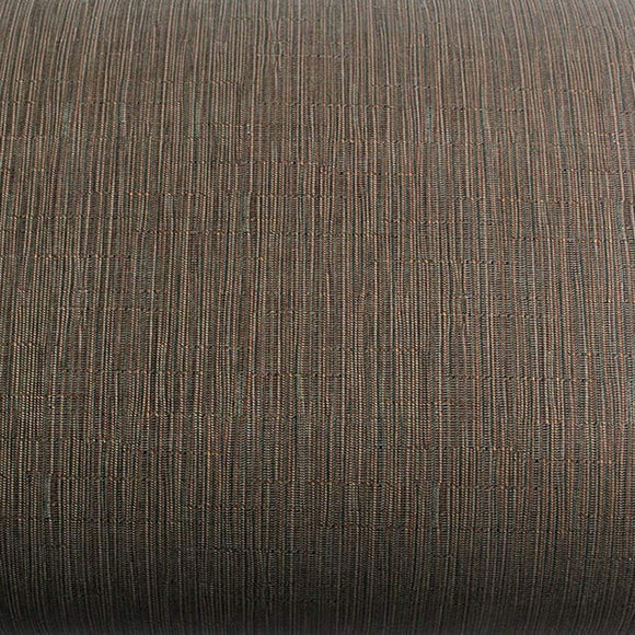 ROSEROSA Peel and Stick PVC Fiber Weave Self-Adhesive Covering Countertop Backsplash Brown DM219