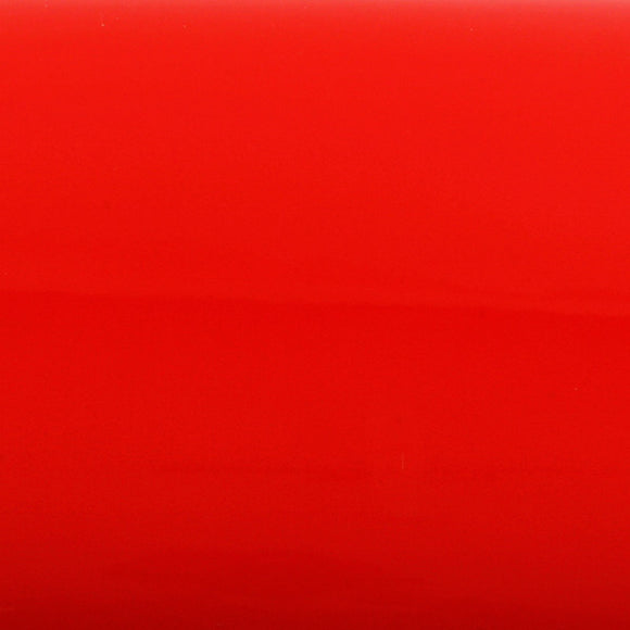 ROSEROSA Peel and Stick Flame Retardation PVC High Glossy Solid Self-adhesive Covering Red PGF419