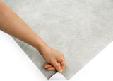 ROSEROSA Peel and Stick Flame Retardation PVC Concrete Self-adhesive Covering Countertop FDM1702