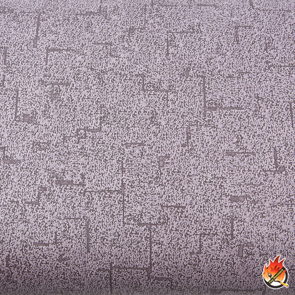 ROSEROSA Peel and Stick Flame Retardation PVC Fabric Self-Adhesive Covering Countertop Violet FLW860