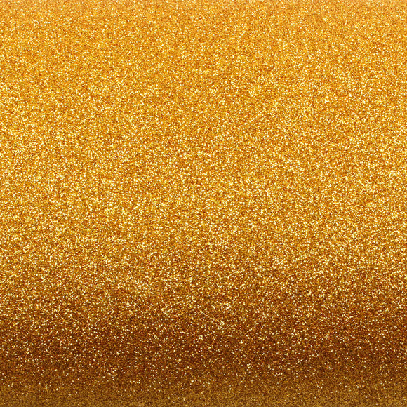 ROSEROSA Peel and Stick Glitter Sand Crafting Tape Instant Self-Adhesive Border Sticker - Gold