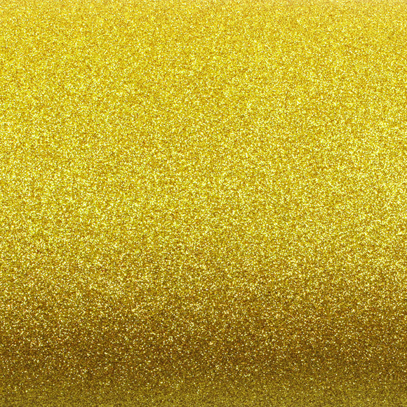 ROSEROSA Peel and Stick Glitter Sand Crafting Tape Instant Self-Adhesive Covering - Light Gold