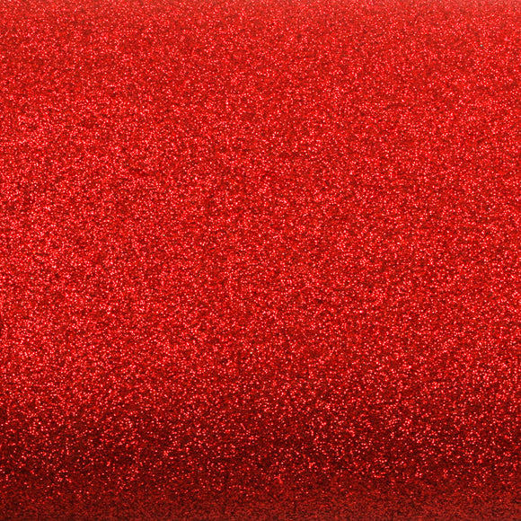 ROSEROSA Peel and Stick Glitter Sand Crafting Tape Instant Self-Adhesive Covering Wallpaper - Red