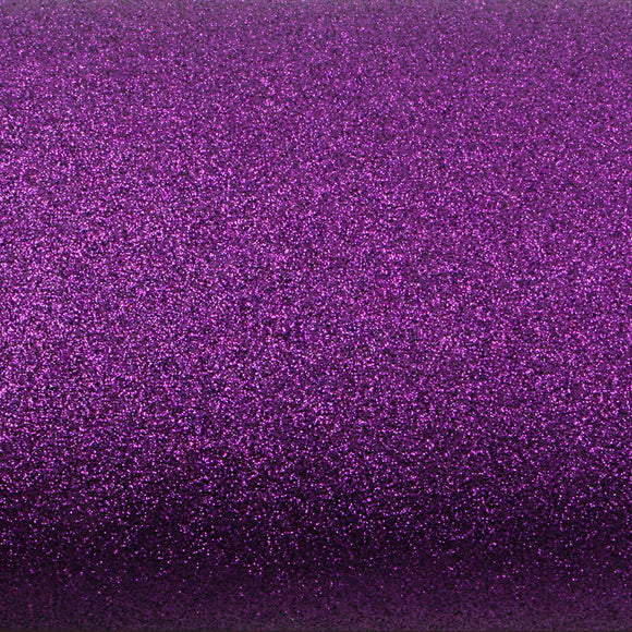 ROSEROSA Peel and Stick Glitter Sand Crafting Tape Instant Self-Adhesive Border Sticker - Violet